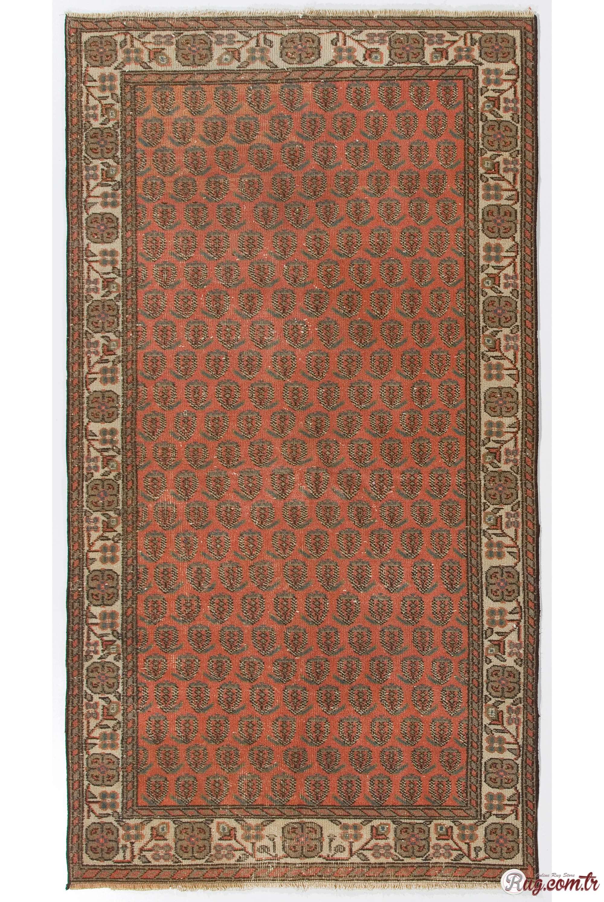 turkish antique washed rug red and beige turkish rug. Black Bedroom Furniture Sets. Home Design Ideas