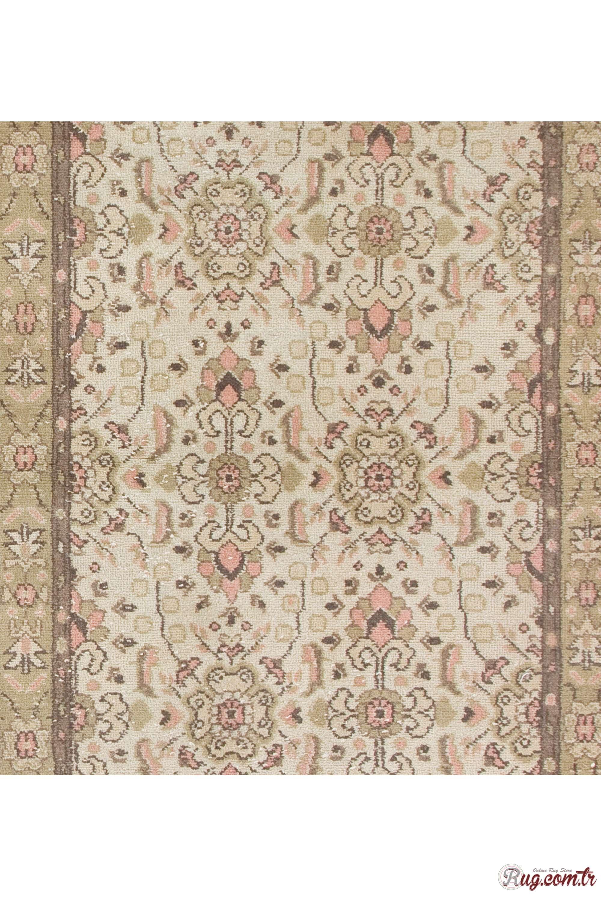 beige antique washed rug 3 39 8 x 6 39 9 112 x 207 cm turkish handmade vintage rug. Black Bedroom Furniture Sets. Home Design Ideas