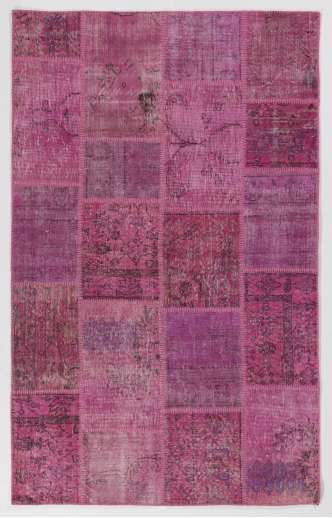 Vintage Handmade Overdyed And Patchwork Rugs From Turkey