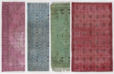 Overdyed Rugs collection